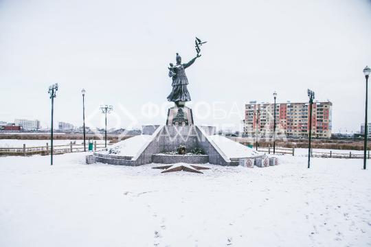 Якутск. Сквер матери